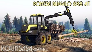 Spintires 2014 - PONSSE Buffalo 8x8 AT