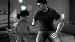 getlinkyoutube.com-Little Sarah and Sam. Fisher Protects His Daughter. Flashback (Splinter Cell: Conviction)