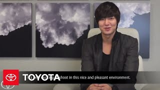 2012 Camry: Interview with Lee Min Ho -
