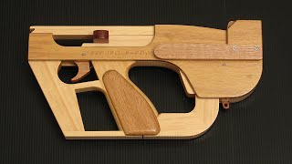 "getlinkyoutube.com-Seburo ""Space Stapler"" blowback rubber band SMG"