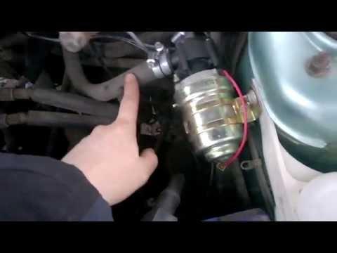 Где в Honda Stepwgn находится предохранитель мотора печки