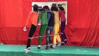 One man do  group dance incredible