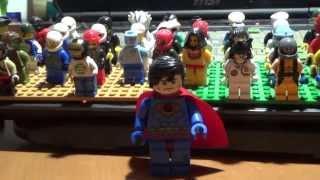getlinkyoutube.com-china 슈퍼맨 슈퍼히어로 중국산 레고 짝퉁 제품-큰 사이즈에 가슴에 불이 들어와요