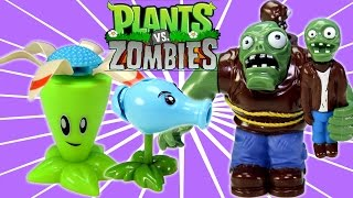 getlinkyoutube.com-Plants vs. Zombies 2 Action Toys Unboxing and Review!