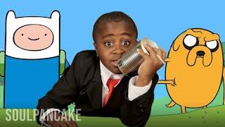 getlinkyoutube.com-Kid President Interviews Pen Ward - ADVENTURE TIME Creator!