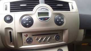 getlinkyoutube.com-Сabin filter replacement + A/C cleaning Renault Scenic 2