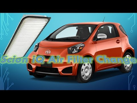 Scion IQ Engine Air Filter replacement.