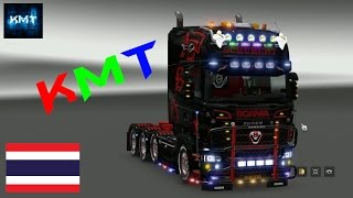 getlinkyoutube.com-thailand Euro Truck Simulator 2 MOD Scania Tuning packs