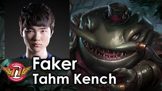 Faker picks Tahm Kench