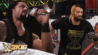 getlinkyoutube.com-WWE 2K16 - Seth Rollins Returns 2016 & The Shield Reunite