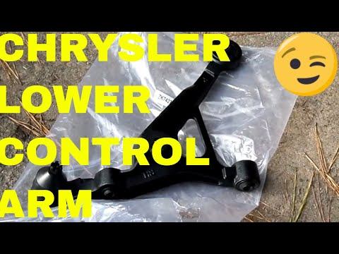 DIY Lower Control Arm And Ball Joint Chrysler Sebring,