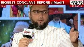 getlinkyoutube.com-Naqvi Vs. Owaisi On 'Acche Din', Beef Ban At Manthan AajTak