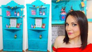 getlinkyoutube.com-tutoriales mueble de cartón rinconera como el mueble de Yuya - @yuyacst - Manualidades DIY - Isa ❤️