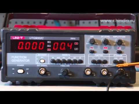 UTG9002C - генератор сигналов