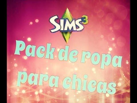 Pack de ropa para chicas-Los Sims 3