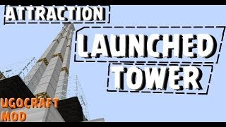 getlinkyoutube.com-#1//TuTorial//Contruisons une attraction a sensations de fête foraine /mod Ugocrat /Minecraft 1.5.2