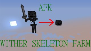 getlinkyoutube.com-AFK Wither Skeleton Farm Tutorial for Minecraft 1.8