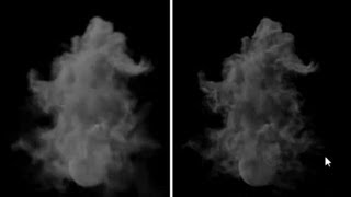 Fumefx tutorial:Wavelet Turbulence and post processing
