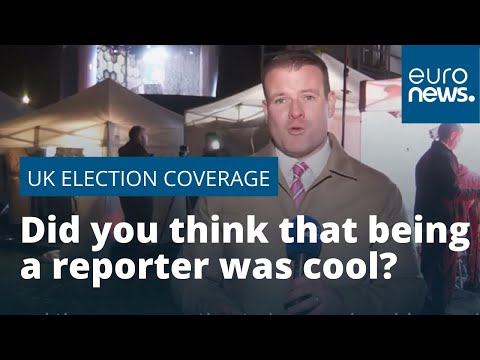 France 24:UK election 2019: Did you think being a TV reporter was glamorous?