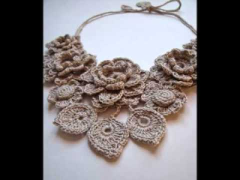 Crochet jewelry by Fibreromance