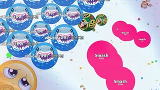 getlinkyoutube.com-PURE SKILL TIME !! - SUPERIOR SOLO AGARIO GAMEPLAYS | Agar.io