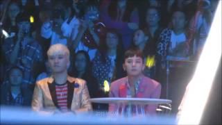 getlinkyoutube.com-151202 MAMA - GD & RI Enjoying IKON's Rhythm-Ta performance