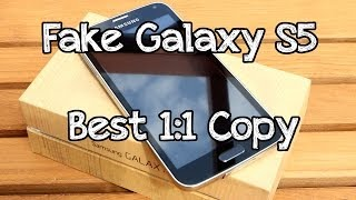 getlinkyoutube.com-FAKE Samsung Galaxy S5 ! - HDC S5 - Best 1:1 Copy on the market ! - UNBOXING [HD]
