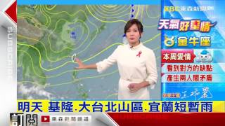 getlinkyoutube.com-氣象時間 1051202 晚間氣象 東森新聞HD