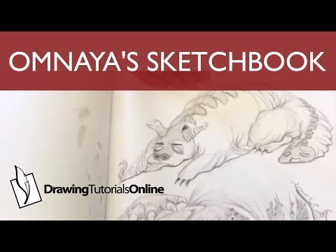 Omnaya's Sketchbook Incredible Line