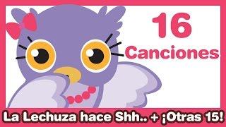 getlinkyoutube.com-La Lechuza hace Shh + otras 15 Canciones Infantiles ♫ HD