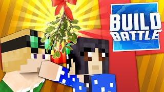 getlinkyoutube.com-Minecraft Christmas Build Battle: MISTLETOE