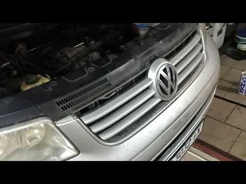 Где в Volkswagen Мультивен щуп коробки передач
