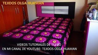 getlinkyoutube.com-Flor grande en punto rococo de 12 pétalos video 5