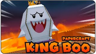 getlinkyoutube.com-Mario & Luigi Paper Jam Walkthrough Part 37 Papercraft King Boo Boss Battle