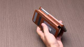 getlinkyoutube.com-Heritage Wallet Book for iPhone 6/6s and 6 Plus/6s Plus | Sena Cases