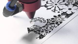 getlinkyoutube.com-100 Watt Laser Cutting Paper Wedding Invitation