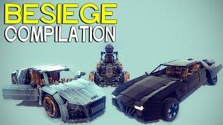 getlinkyoutube.com-►Besiege Compilation (W24) - Amazing Cars & More