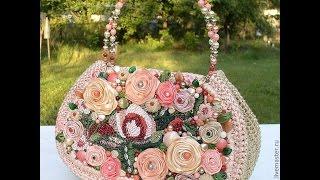 getlinkyoutube.com-Потрясающие авторские сумки, вязанные сумки, что дух захватывает