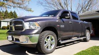 getlinkyoutube.com-2015 Dodge RAM 2 inch Lift-Level using Bilstein 5100