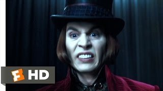 getlinkyoutube.com-Charlie and the Chocolate Factory (1/5) Movie CLIP - I Don't Care (2005) HD