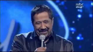 getlinkyoutube.com-ترحيب اعضاء اللجنة بملك الراي الشاب خالد   Arab Idol 2013   billou4u