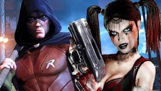 HARLEY QUINN QUIERE VENGAR LA MUERTE DE JOKER!!!   La Venganza De Harley Quinn (Arkham City DLC PS4)