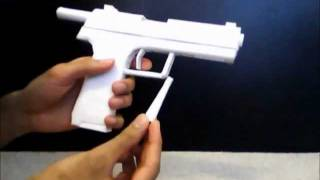 getlinkyoutube.com-Paper Pistol: H&K USP