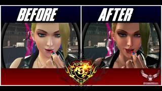 The King of Fighters XIV - Climax Graphic Compare [1.05 vs 1.10]