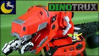 getlinkyoutube.com-Dinotrux Toys! HUGE Mega Chompin' Ty Rux, D-Structs Pull Back Racer, Revvit, Garby and MORE!