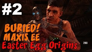 CoD Zombies EASTER EGG Origins on BURIED: MAXIS Side [2] ★ CoD Black Ops 2 Zombies