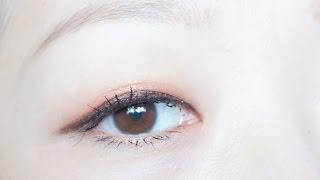 getlinkyoutube.com-눈화장 초보를 위한 1 섀도우 + 1 아이라이너 메이크업 ( 멜코Melco )