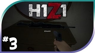 getlinkyoutube.com-H1Z1 Gameplay #3- Best Gun Spawns