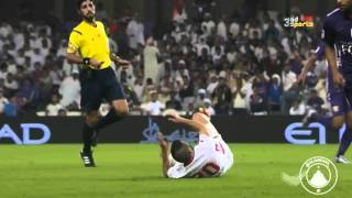 ملخص مباراة العين والفجيرة - ولقاء مع الشيخ عبدالله بن محمد   HD