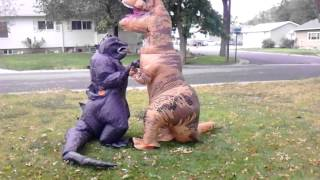 getlinkyoutube.com-Godzilla vs. T-Rex